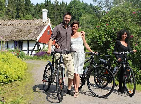 Trek-cyklar som klarar både asfalt och grusväg