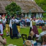 Midsommar med Ystad folkdanslag